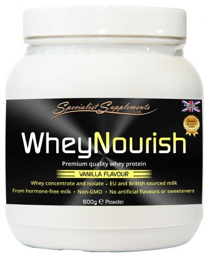 WheyNourish Powder, High Quality Whey Protein Vanilla Flavour